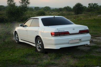 Toyota Mark II 1998 отзыв автора | Дата публикации 15.02.2013.