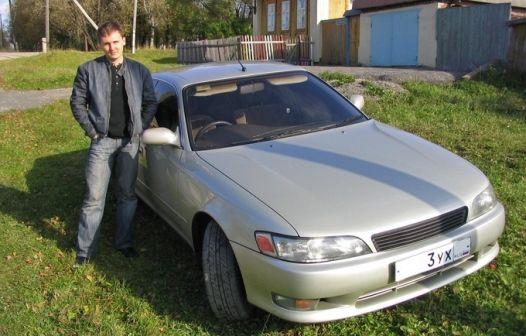 Toyota Mark II 1992 - отзыв владельца