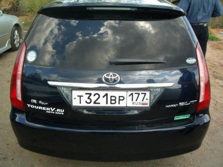 Toyota Mark II Wagon Blit 2002 - отзыв владельца
