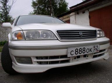 Toyota Mark II Wagon Qualis, 1997