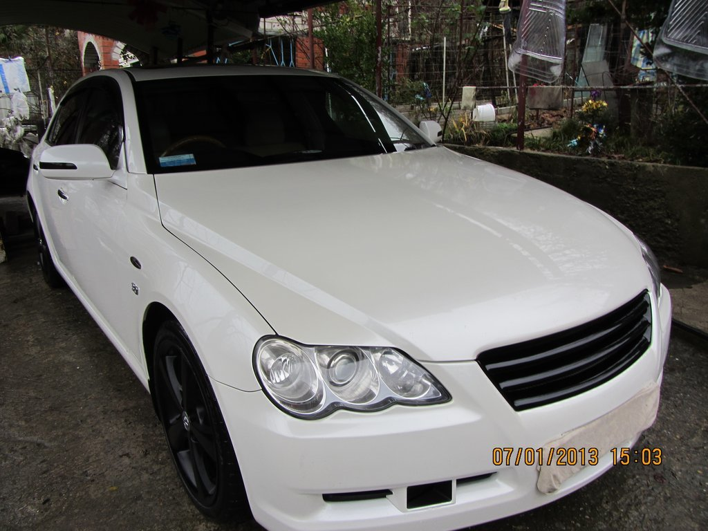 toyota mark x 2005 - отзыв