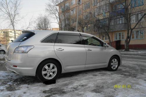 Toyota Mark X Zio 2008 - отзыв владельца