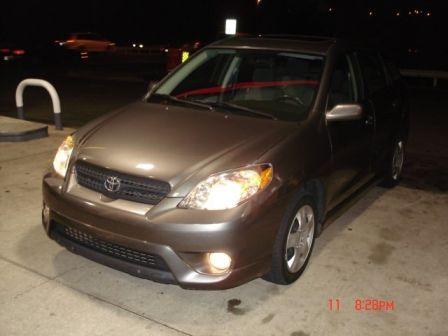 Toyota Matrix 2005 - отзыв владельца