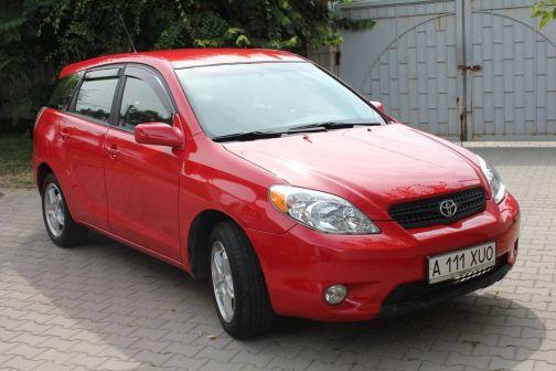 Toyota Matrix 2007 - отзыв владельца