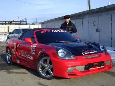 Toyota MR-S отзыв автора | Дата публикации 08.06.2008.