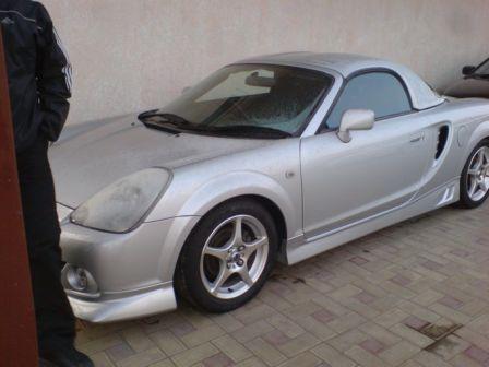 Toyota MR-S 2003 - отзыв владельца