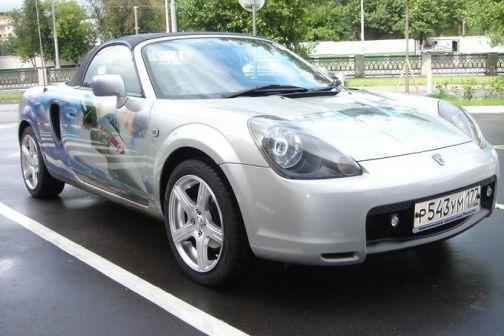 Toyota MR-S 2001 - отзыв владельца