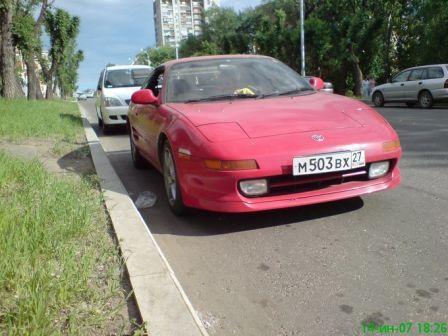 Toyota MR2 1994 - отзыв владельца
