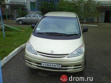Toyota Previa, 2002