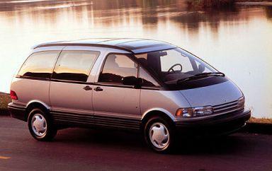 Toyota Previa, 1991