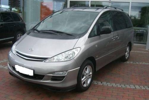 Toyota Previa  - отзыв владельца