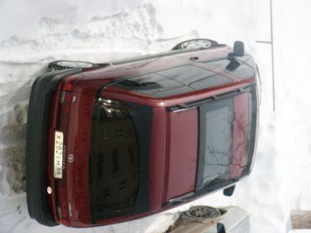 Toyota Previa 2001 - отзыв владельца