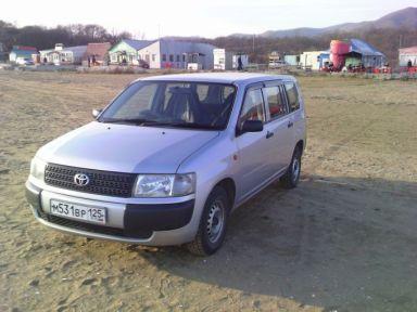 Toyota Probox 2003 отзыв автора | Дата публикации 04.11.2008.