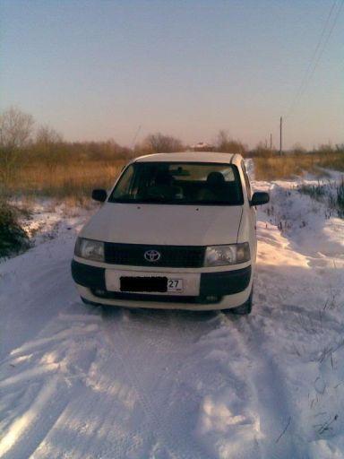 Toyota Probox 2003 отзыв автора | Дата публикации 10.01.2009.