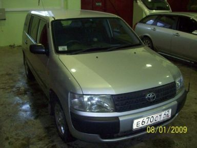 Toyota Probox 2002 отзыв автора | Дата публикации 09.03.2009.