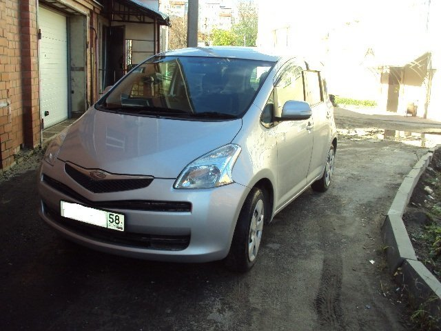 toyota ractis 2011 двигатели и классы