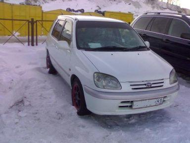 Toyota Raum 1998 отзыв автора | Дата публикации 07.03.2009.