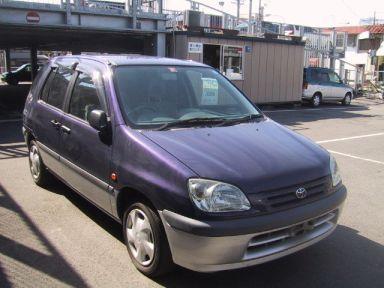 Toyota Raum, 1997