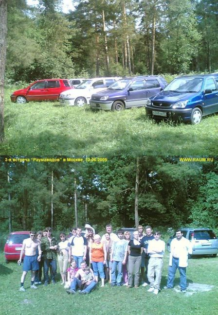 Toyota Raum 2001 - отзыв владельца