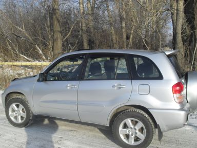 Toyota RAV4 2003 отзыв автора | Дата публикации 19.11.2011.