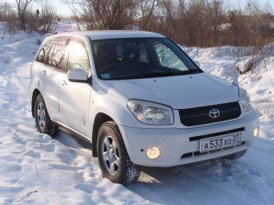 Toyota RAV4 2003 отзыв автора | Дата публикации 05.12.2012.