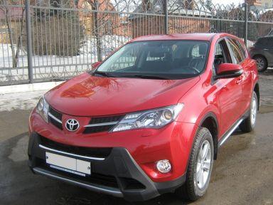Toyota RAV4 2012 отзыв автора | Дата публикации 15.05.2013.