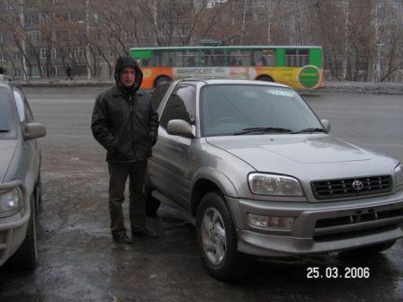 Toyota RAV4 1998 - отзыв владельца