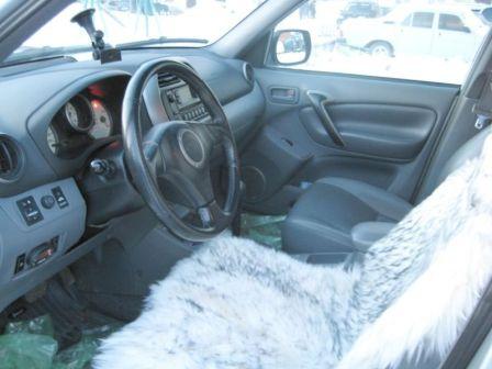 Toyota RAV4 2002 - отзыв владельца