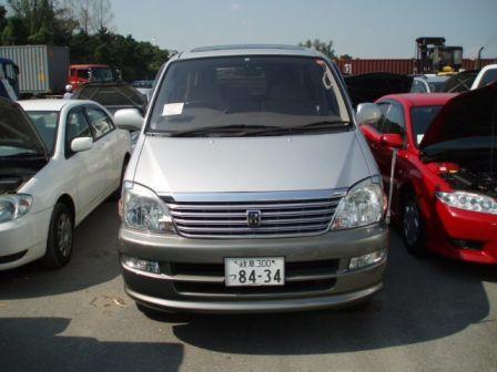 Toyota Regius 2001 - отзыв владельца