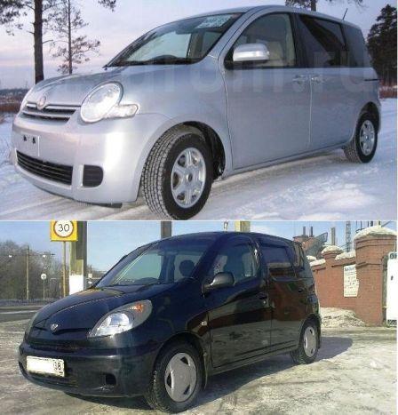 Toyota Sienta 2007 - отзыв владельца