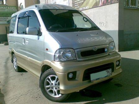 Toyota Sparky 2000 - отзыв владельца