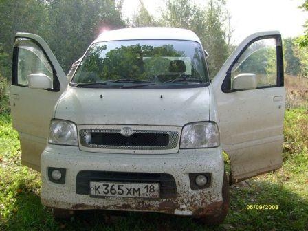 Toyota Sparky 2001 - отзыв владельца