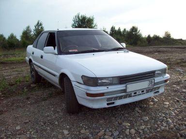 Toyota Sprinter 1989 отзыв автора | Дата публикации 06.10.2009.