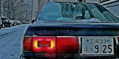 Toyota Sprinter, 1989