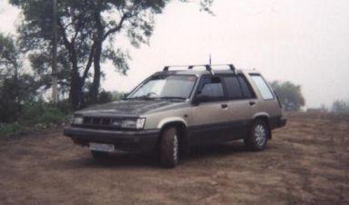 Toyota Sprinter Carib, 1986