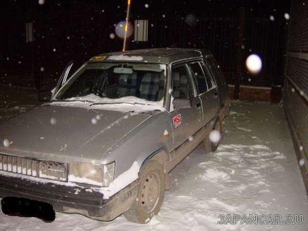 Toyota Sprinter Carib 1986 - отзыв владельца