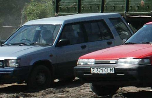 Toyota Sprinter Carib 1984 - отзыв владельца