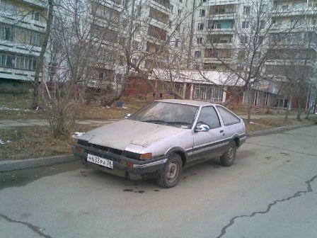 Toyota Sprinter Trueno 1985 - отзыв владельца