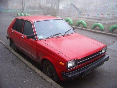 Toyota Starlet, 1981