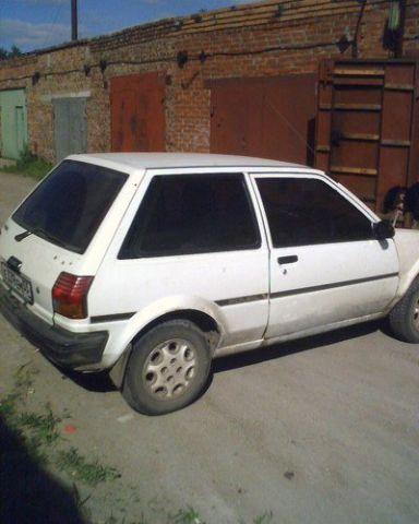 Toyota Starlet, 1986