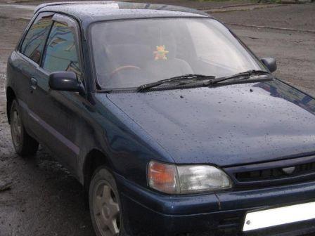 Toyota Starlet 1995 - отзыв владельца