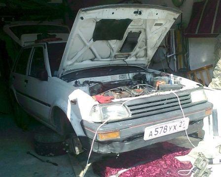 Toyota Starlet 1986 - отзыв владельца
