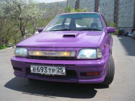 Toyota Starlet 1989 - отзыв владельца