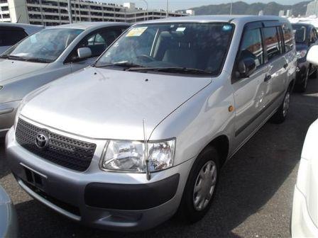 Toyota Succeed 2008 - отзыв владельца