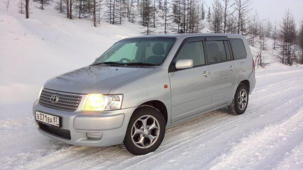 Toyota Succeed 2007 - отзыв владельца