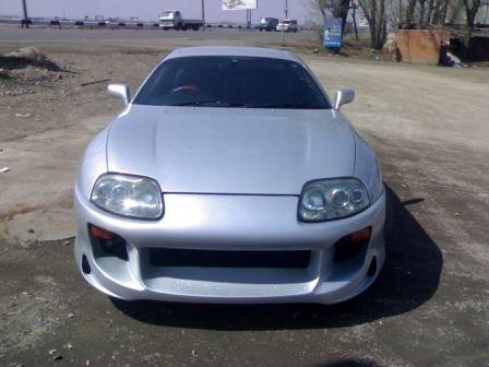 Toyota Supra 1993 - отзыв владельца