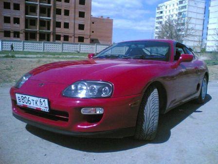 Toyota Supra 1998 - отзыв владельца