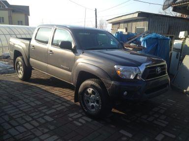 Toyota Tacoma 2013 отзыв автора | Дата публикации 23.03.2013.