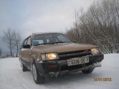 Toyota Tercel 1986 отзыв автора | Дата публикации 22.03.2012.