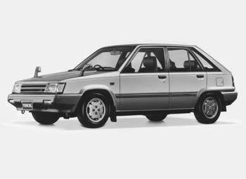 Toyota Tercel 1988 - отзыв владельца